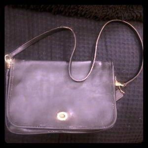 Vintage Navy Coach purse 👛